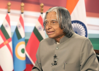 THE PRESIDENT DR APJ ABDUL KALAM ADDRESSED THE NATION ON THE EVE OF INDEPENDENCE DAY ON AUGUST 14, 2006.RB PHOTO