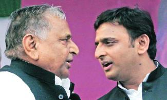 mulayam-and-akilesh